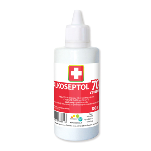 ALKOSEPTOL 70%, SOLUTION, 100ML