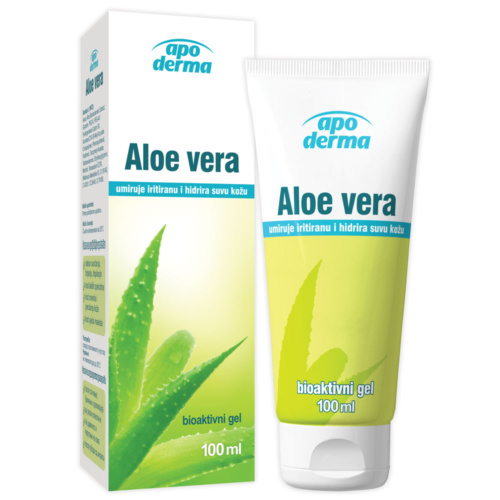 Aloe vera биоактивен гел