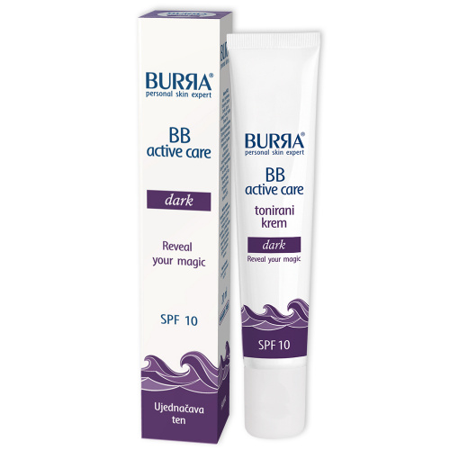 Burra BB active care dark, tonirani krem, 20ml