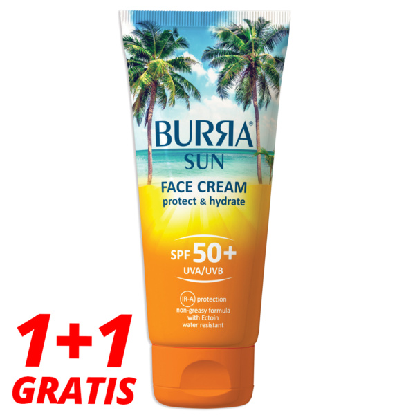 Burra Sun Face Cream 50 Tuba 1+1 Gratis