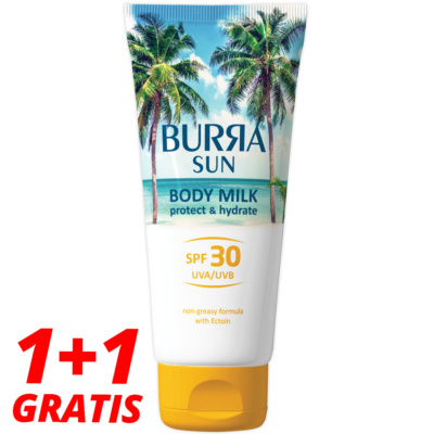 Burra SUN BODY MILK SPF30, 200ml