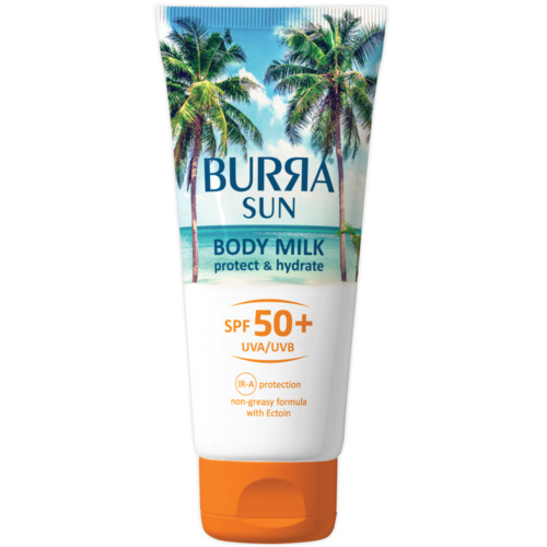 Burra SUN BODY MILK SPF50+, 200ml