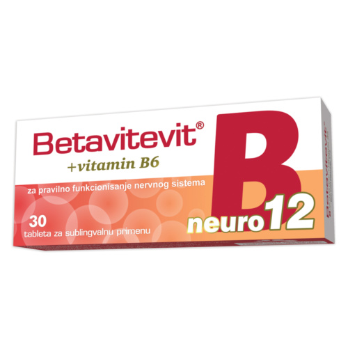 Betavitevit B12 neuro + vitamin B6 sublingual tablets