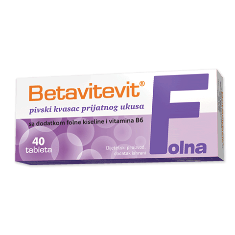 Betavitevit Brewer's – Yeast with Folic Acid and Vitamin B6