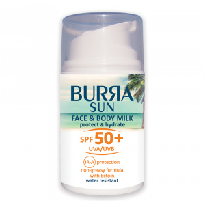 Burra 50 Body And Face Milk Suncalica