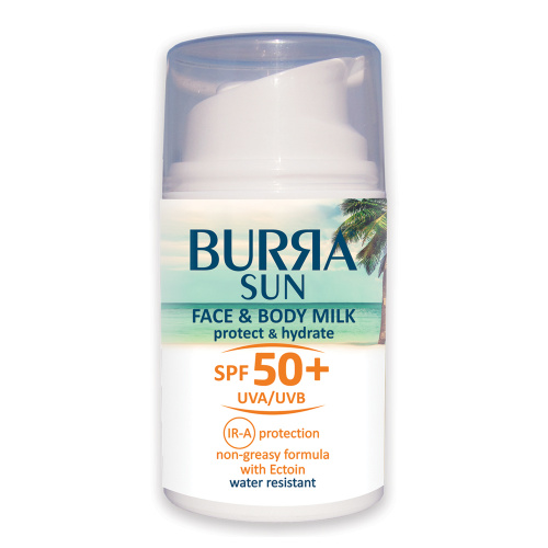 BURЯA SUN FACE&BODY MILK SPF 50+