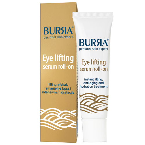 Burra Eye lifting roll-on serum za intenzivnu negu regije oko očiju, 12ml