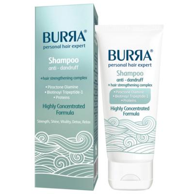 Burra šampon protiv peruti i za jačanje kose, 200ml