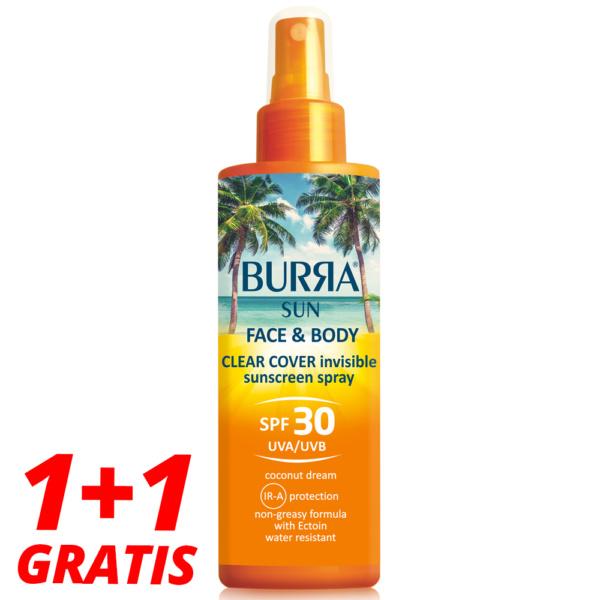 Burra Sun 30 Sprej Boca 1+1 Gratis