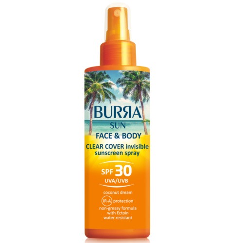BURRA SUN Face & Body Spray SPF30, 200ml