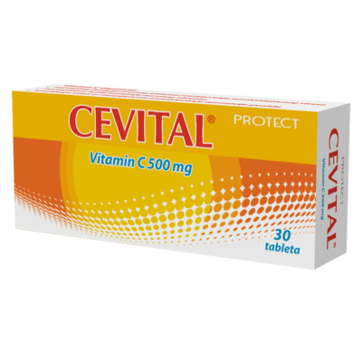 Cevital Vitamin C 500mg, 30 tablets