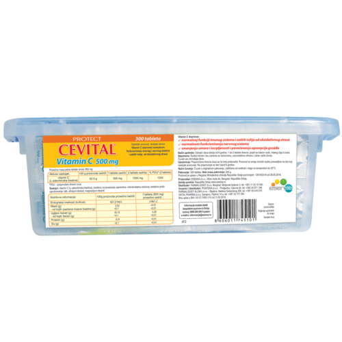 Cevital Vitamin C tablets 500mg