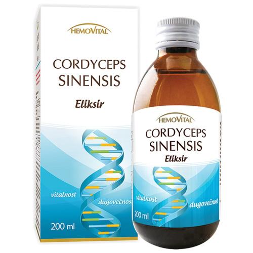 Cordyceps sinensis eliksir 200ml