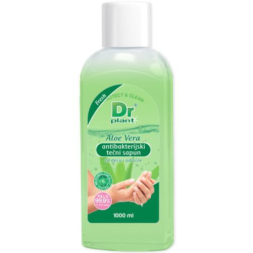 Dr Plant Aloe vera antibacterial liquid soap, 1l