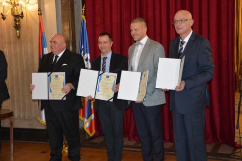 Direktoru kompanije ''Esensa'' Nenadu Đorđeviću uručeno priznanje NAJEVROPLJANIN 2017.