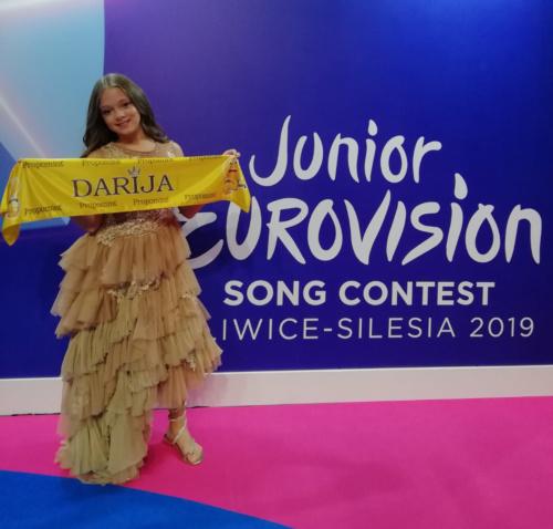 Darija Vračević i Esensa na dečijoj Evroviziji 2019.