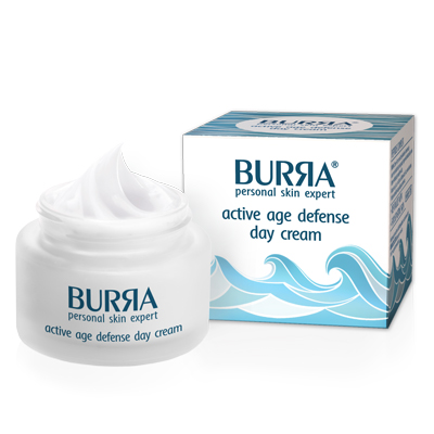 Burra active age defense day cream, dnevni krem za aktivnu negu kože, 50ml