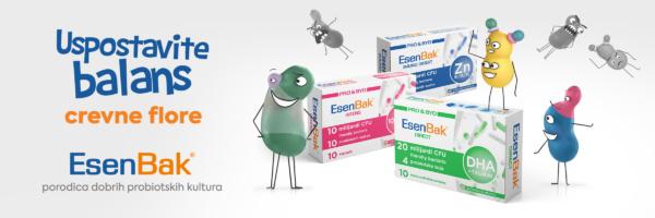 Esenbak probiotici