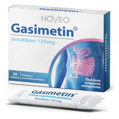 Gasimetin simethicon 125mg powder for direct application