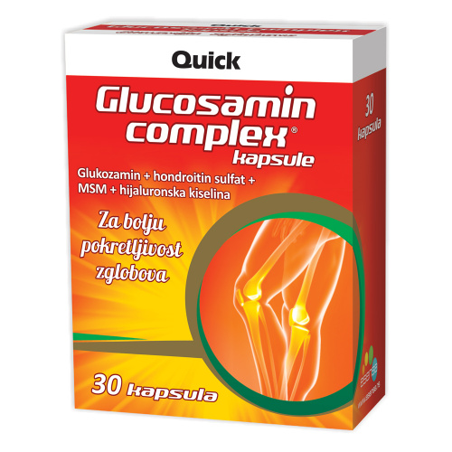 Капсулы Glucosamin complex