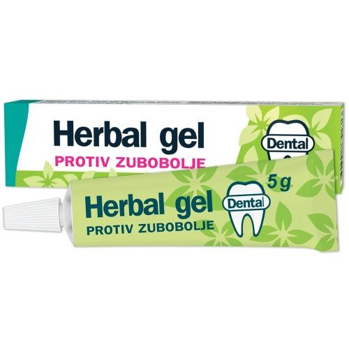 Herbal gel protiv zubobolje 5g