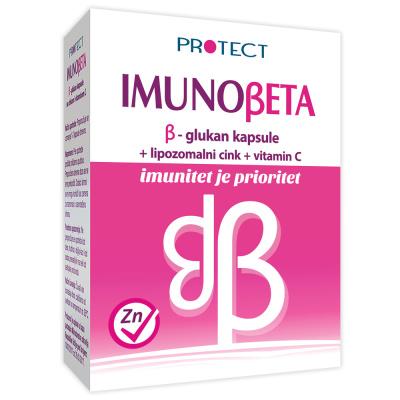 Imunobeta glucane capsules