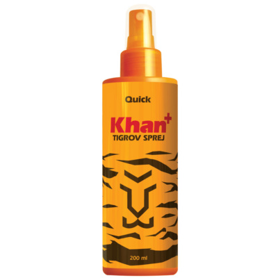 Khan Plus, Tiger antirheumatic spray, 200ml