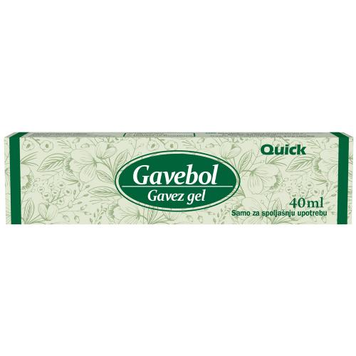 Gavez gel  Gavebol 40ml