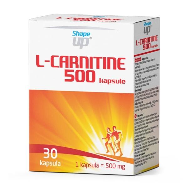 L Carnitine 500 Min