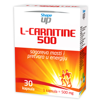 Shape up L Carnitine 500