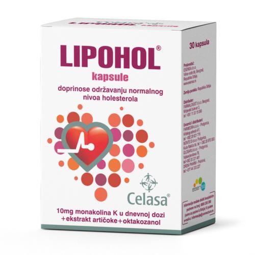 Lipohol kapsule za regulisanje holesterola a30