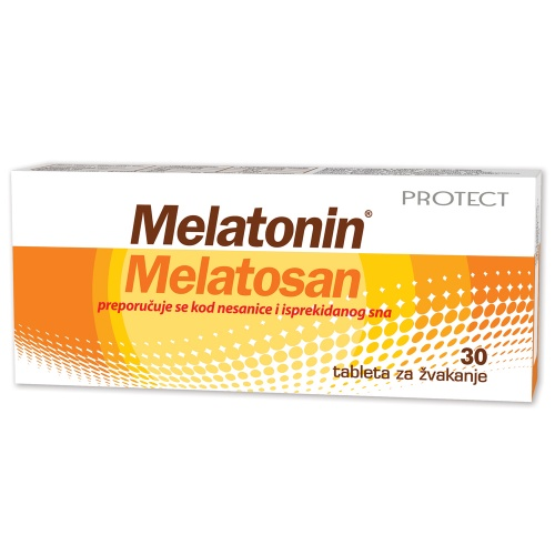 Melatonin Melatosan sublingvalne tablete a30