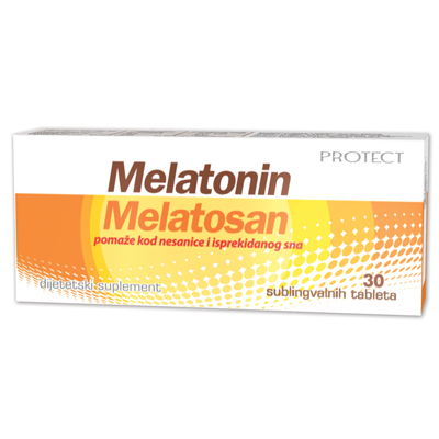 Protect Melatonin Melatosan tablets
