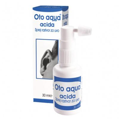 Oto aqua acida, sprej rastvor za uvo, 30ml