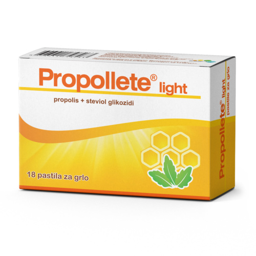 Propollete light pastile