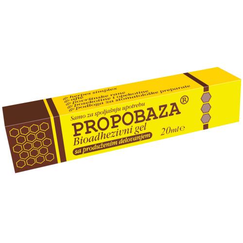 Propobaza bioadhezivni gel 20g