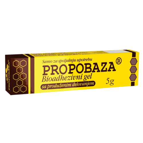 Propobaza bioadhezivni gel 5g