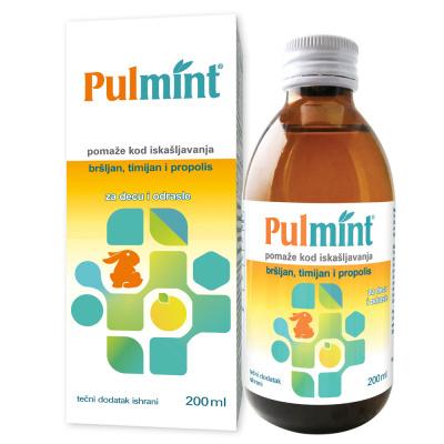 Pulmint, tečni dodatak ishrani 200ml