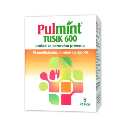 Pulmint Tusik 600 the powder for oral application