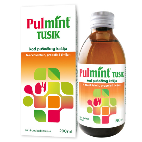 PULMINT TUSIK, LIQUID SUPPLEMENT OF NUTRITION