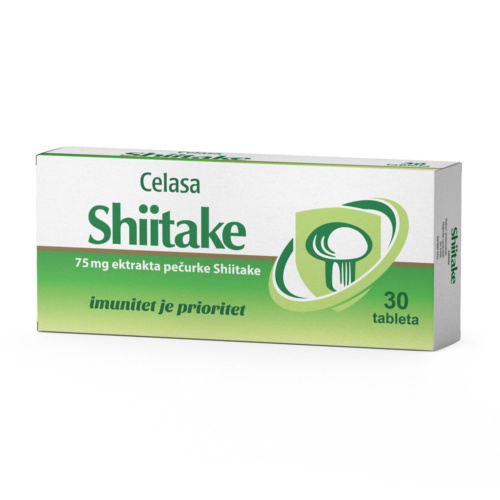 Shiitake tablete