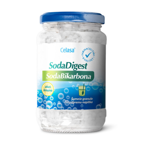 Sodadigest soda bikarbona, šumeće granule 100g