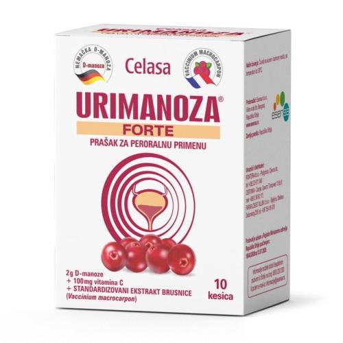 Urimanoza Forte, prašak za peroralnu primenu, 10 kesica