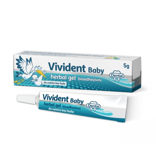 Vivident baby teething gel