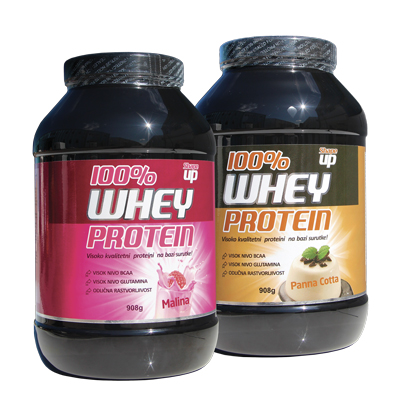 100% Whey proteins