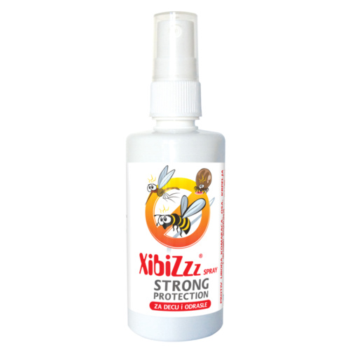XIBIZ STRONG PROTECTION ICARIDIN SPRAY, AGAINST MOSQUITO AND TICKS BITES, 100 ML