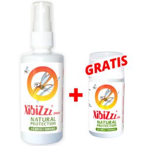 Xibiz Sprej 100ml+gratis Proizvod Gel