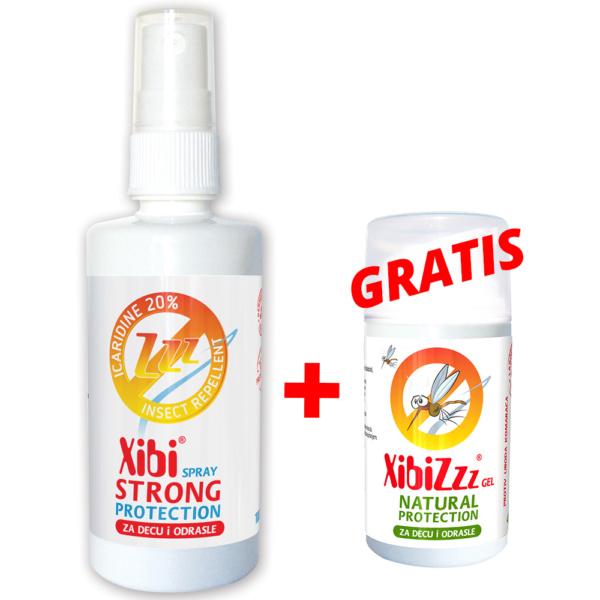 Xibiz Strong Ikaridin Sprej 100ml+gratis Proizvod Gel