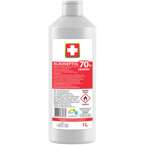 ALKOSEPTOL 70%, SOLUTION, 1L