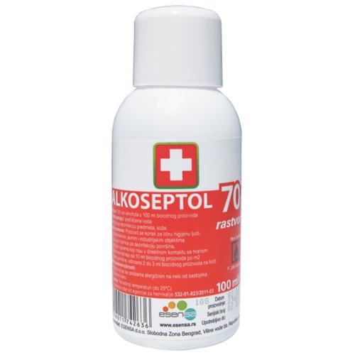 Alkoseptol 70% rastvor, 100ml